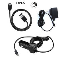 Type C USB + Wall + Car Charger for BlackBerry Key2 Key 2