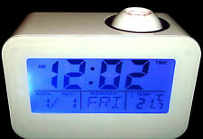 LED Projection de réveil Révei lparlant Numérique Horloge voyage