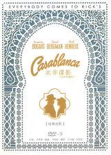 Casablanca DVD Humphrey Bogart Ingrid Bergman Paul Henreid NEW Oscar Award R0