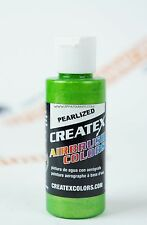 Createx Airbrush Colors 5317 Pearl Lime Ice 2oz. water-based pearlized paint