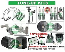 TUNE UP KITS for 98-02 ACCORD (DX): SPARK PLUGS, WIRE SET, FILTERS; CAP & ROTOR