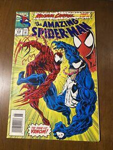 The Amazing Spider-Man #378 Carnage & VENOM Cover Rare Newsstand HI GRADE Copy