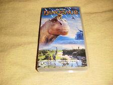 DINOSAUR walt disney 2000 VHS as NEW animated kids family PAL VIDEO