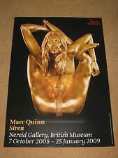 MARC QUINN: SCULPTURE OF KATE MOSS  - BRITISH MUSEUM EXHIBITION (2) POSTER