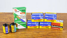 Lot of Expired Slide Film, Ektachrome, Fujichrome, Kodachrome  10 Rolls Total