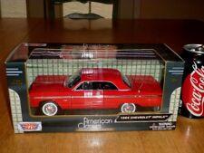 1964 Chevrolet Impala, Motor Max Die Cast Metal Factory Built Toy Car, 1:24