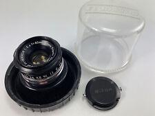 NIKON Standard & Medium Telephoto Single-Focus Enlarging Lens EL-NIKKOR 80MM 5.6