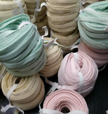 Elastic 3/8 inch MADE in USA - PASTEL COLORS with a Touch of Class by the Roll