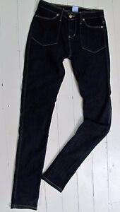 SASS & BIDE Dark Blue JEANS Tomorrow The Great Sz 27 Stretch Denim Skinny Low