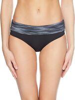 TYR Women's 178872 Arvada Riva Classic Bikini Bottom Swimwear Black Size S