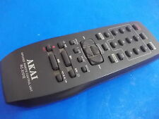 AKAI RC-X168E TV VCR REMOTE CONTROL GENUINE ORIGINAL back missing