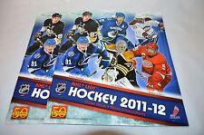 NHL LNH Hockey 2011-12 Album Booklet 2 Pack