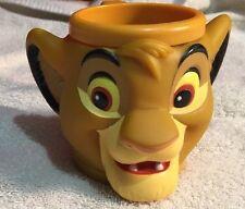 Vintage Disney's Lion King Character Mug Simba Cub From Applause Inc
