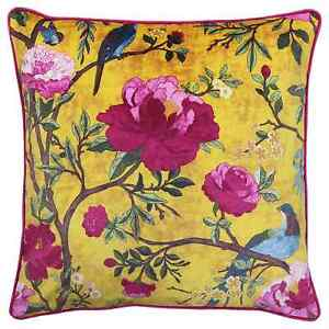 Chinoiserie Gold Cushion Covers by Riva Paoletti