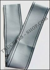 SCANIA R GREY LEATHERETTE STEERING WHEEL COVER [TRUCK PARTS & ACCESSORIES]