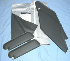 1968-72 nova new headliner & visors black premiere
