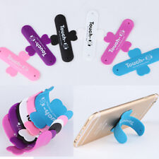 Mobile Phone Bracket Smartphone Touch U Silicone Rubber Stand Holder Universal