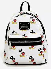 Disney Loungefly Mickey Mouse Allover print Mini Backpack NWT