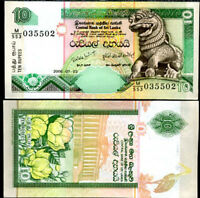 Sri Lanka 10 Rupees 2006 P 115 UNC LOT 10 PCS