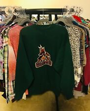 Brandon Sportswear Retro Nhl Phoenix Coyotes Green Embroidered Hockey Fan Xl