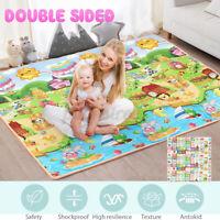 0.5/1/2cm Baby Kids Play Mat Floor Rug Picnic Home Cushion Crawling Mat