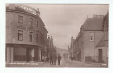 High Street Dingwall Ross-shire Royal Hotel Early 1900s Real Photograph Davidson