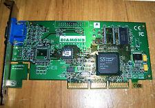 Diamond STL III S520 ATX AGP 8MB S3 SAVAGE4 PRO Video Vga Adapter Graphic Card