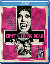 CRYPT/HOUSE OF THE LIVING DEAD Blu Ray/DVD Drive-In YOUNG HANNAH QUEEN VAMPIRES