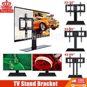 TV Stand Bracket Base Plasma Tabletop TV Stand Bracket Pedestal LCD LED VESA UK