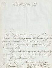 Lettera Autografo Cardinale Niccola Clarelli Paracciani Montefiascone Tosti 1850
