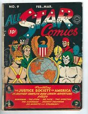 All Star Comics #9 - The Justice Society of America in a book-length adventure!