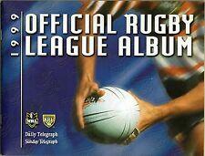 1999 RUGBY LEAGUE ALBUM AND TEAM PHOTOS