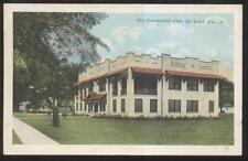 Postcard De LAND Florida/FL  Commercial Club House Building view 1910's