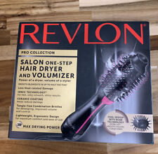 Revlon PRO Collection Salon One Step Hair Dryer and Volumizer Pink In Hand