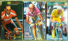 1997 1998 2000 Giro D'Italia World Cycling Productions Double Vhs lot Very Clean