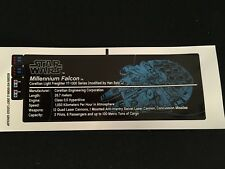 ADESIVO STICKER x LEGO STAR WARS MILLENNIUM FALCON 10179 - Custom AAA+++