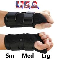 Wrist Hand Brace Carpal Tunnel Support Splint Arthritis Sprain Breathable Band
