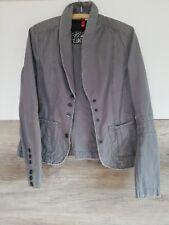 Damen Jacke Blazer Gr. 40 von H&M in grau