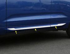 For 2018 Volvo XC60 Steel Side Door Body Bottom Molding Cover Trim 4pcs has logo