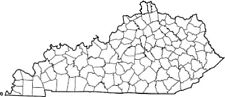 Kentucky State Map Patch