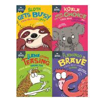 Sue Graves Behaviour Matters Collection 4 Books Set Series 3 (Llama,Sloth,Koala,