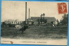 CPA : St REMY sur AVRE (Eure) - La Filature de l'Isle / 1916