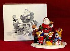 Vintage Dept 56 Snow Village Accessories 5477-1 Santa Comes To Town 1995