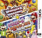 PUZZLE & DRAGONS Z + PUZZLE & DRAGONS SUPER MARIO BROS EDITION NUEVO 3DS