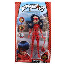Miraculous Ladybug 27cm Marinette Ladybug Fashion PVC Doll Xams Gift