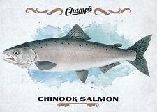 15/16 UPPER DECK CHAMPS FISH #F-7 CHINOOK SALMON *18908
