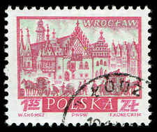 Scott # 958 - 1960 - ' Wroclaw ', Historic Towns