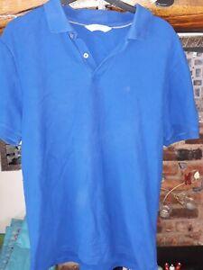 Men's Calvin Klein Blue small Polo Shirt