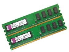 Ordinateur de bureau RAM-Kingston 2 Go (2x1GB) Assortis | DDR2 | PC2-4200U | Non ECC | 533 MHz