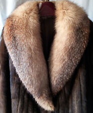 Vintage MINK FUR JACKET or COAT, SIZE M